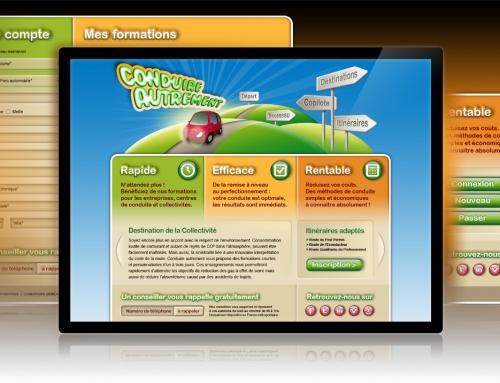 Conduire Autrement : Site internet conduire-autrement.com